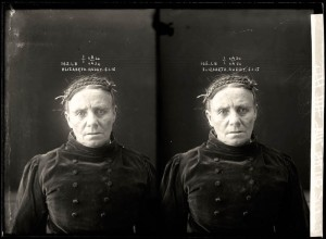 Elizabeth Ruddy, criminal record number 165LB, 5 January 1915. State Reformatory for Women, Long Bay.