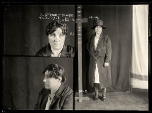 Lillian Sproule, criminal record number 746LB, 31 October 1928. State Reformatory for Women, Long Bay, NSW