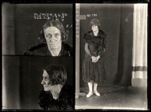 May Smith, criminal record number 755LB, 8 April 1929, State Reformatory for Women, Long Bay, NSW