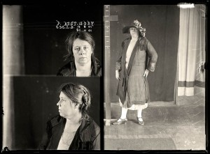 Philomena Mary Best, criminal record number 696LB, 15 March 1927. State Reformatory for Women, Long Bay.